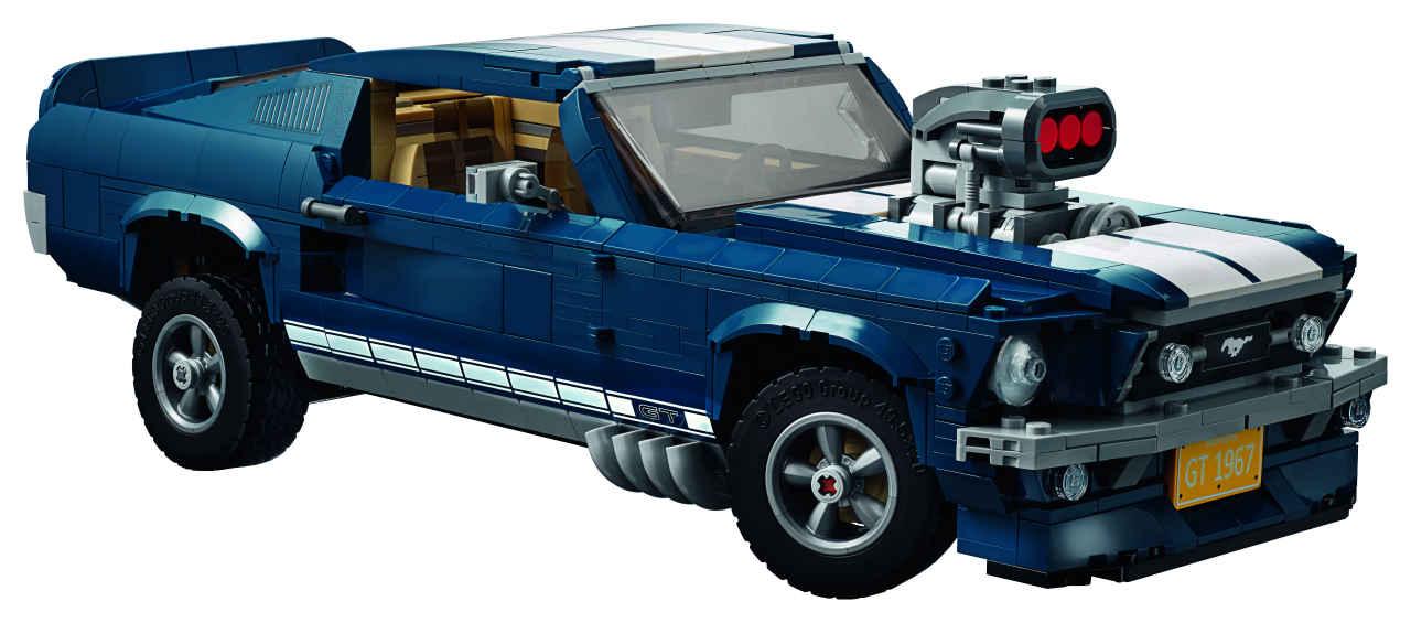 「これがレゴ? 爆走仕様にカスタムできるマスタングが世界で話題に」の1枚目の画像