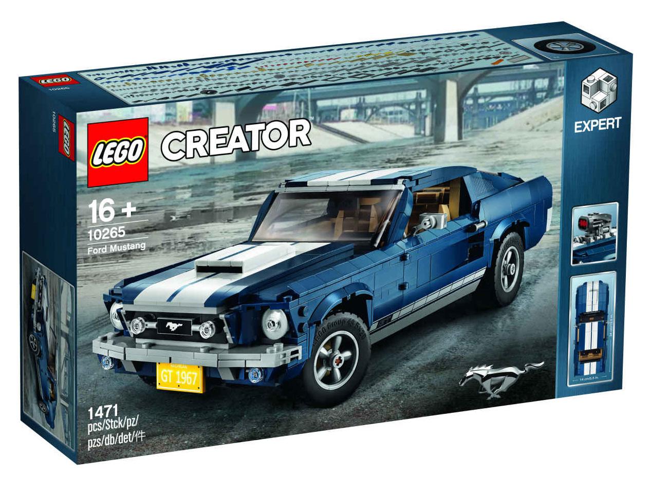 「これがレゴ? 爆走仕様にカスタムできるマスタングが世界で話題に」の4枚目の画像