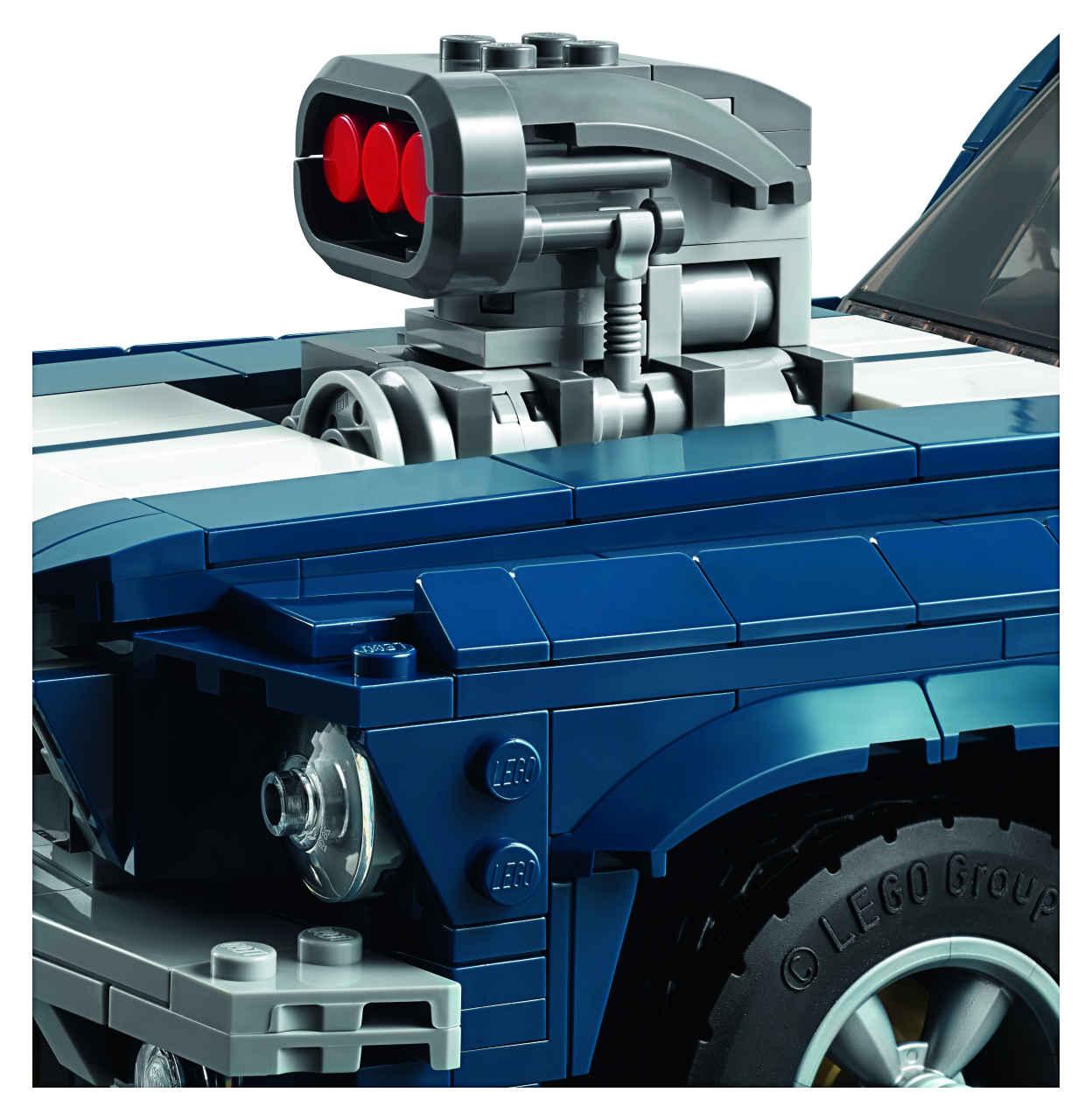 「これがレゴ? 爆走仕様にカスタムできるマスタングが世界で話題に」の6枚目の画像