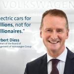独・フォルクスワーゲンが2030年に約4割をEV化する方針を表明 - VW