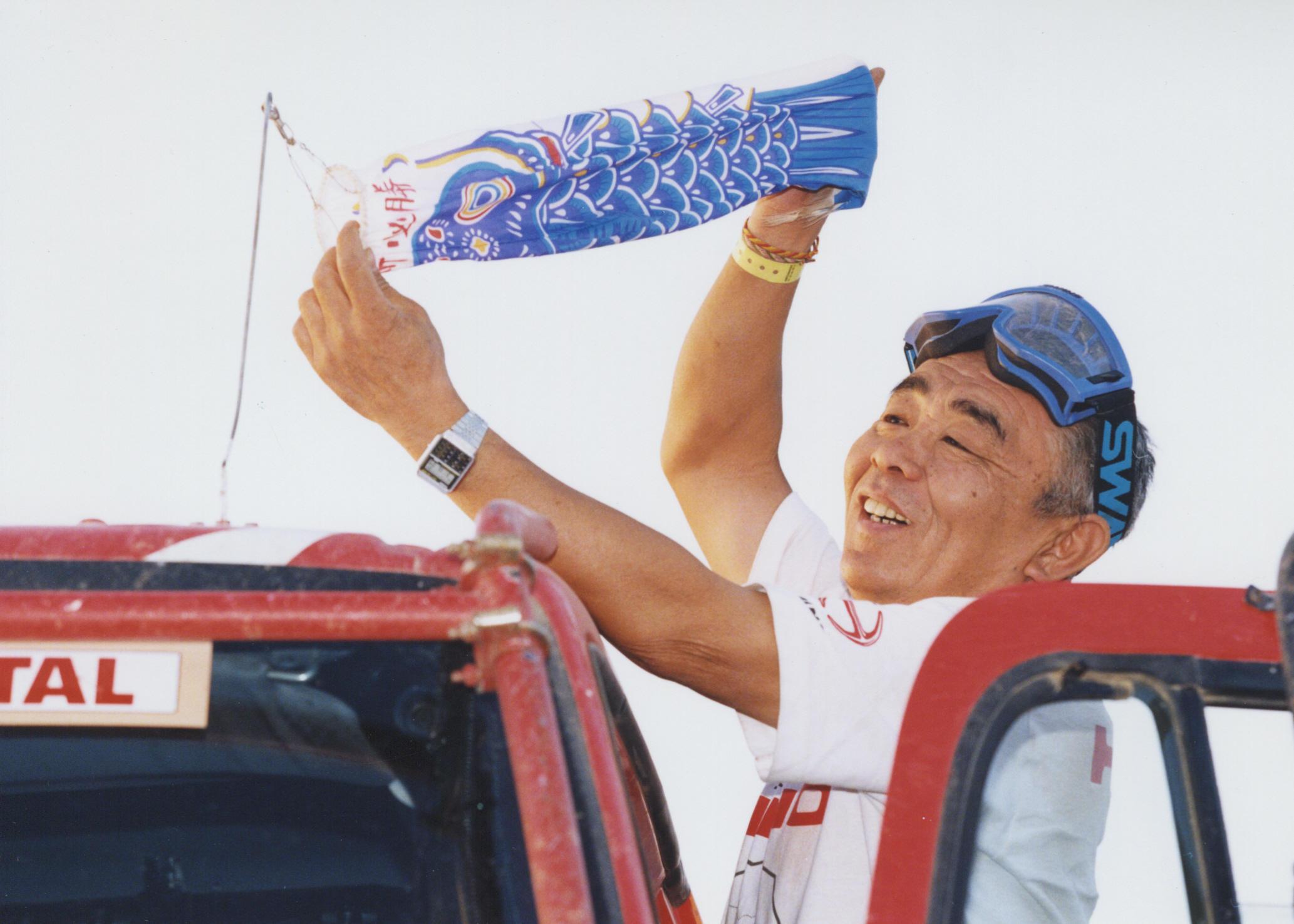 「まもなく78歳「ダカールの鉄人」菅原義正さんがダカール・ラリーから引退宣言」の2枚目の画像