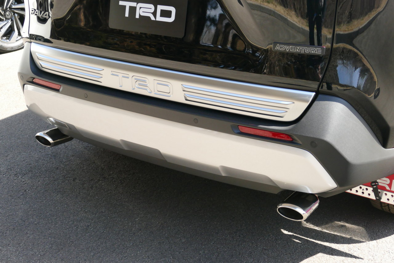 「TRDが仕立てた新型RAV4「Adventure」用パーツはタフな印象を強調する「フィールド・モンスター」」の42枚目の画像
