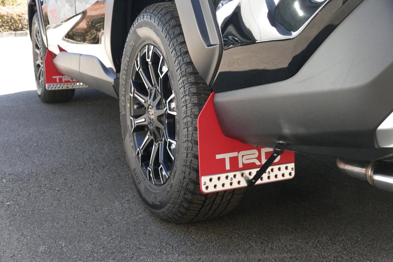 「TRDが仕立てた新型RAV4「Adventure」用パーツはタフな印象を強調する「フィールド・モンスター」」の43枚目の画像
