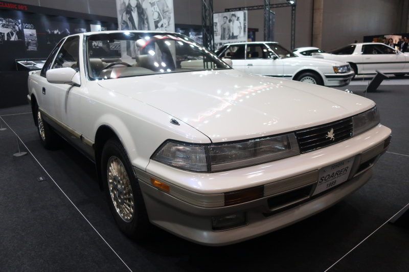 ソアラ、スープラ、マークII、MR2、セルシオ、カリーナED…80年代トヨタ車のチャレンジデザイン!【AUTOMOBILE COUNCIL 2019】
