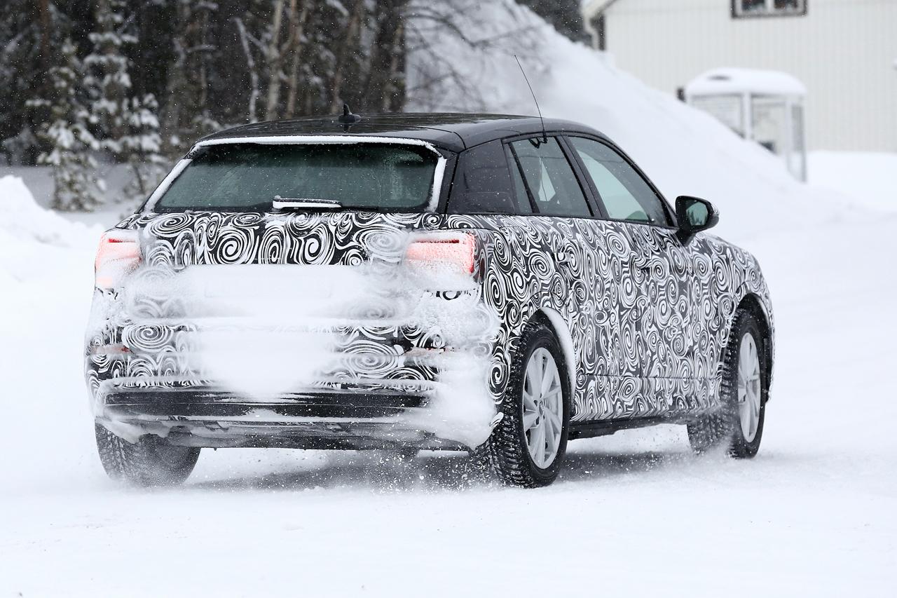 「「Audi Q2 e-tron」アウディ最小SUVもEV化へ…市販型プロトタイプ発見、上海モーターショーで発表か?」の7枚目の画像