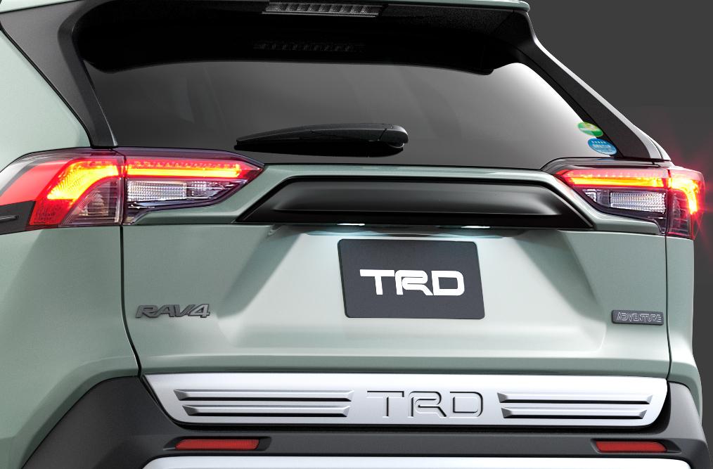 「TRDが仕立てた新型RAV4「Adventure」用パーツはタフな印象を強調する「フィールド・モンスター」」の4枚目の画像