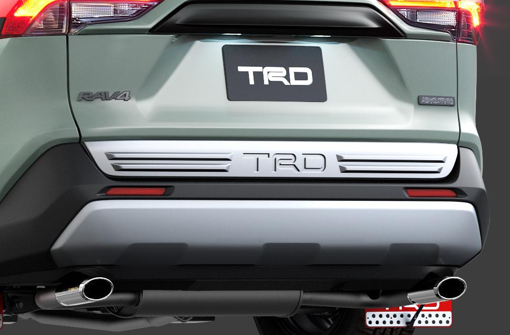 「TRDが仕立てた新型RAV4「Adventure」用パーツはタフな印象を強調する「フィールド・モンスター」」の5枚目の画像