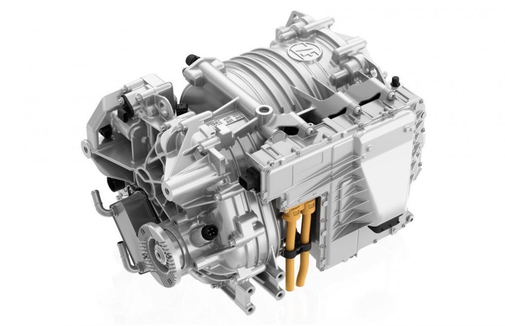CeTrax lite:小型商用車(最大7.5トン)用の電動セントラルドライブで、最高出力150kW、最大トルク380 Nmを発生。