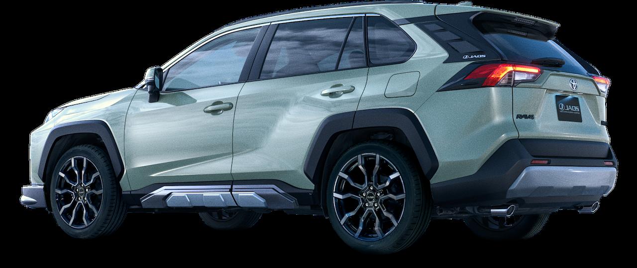 新型トヨタ・rav4「adventure」向けにモデリスタから「jaos」仕様が登場 Clicccar Com
