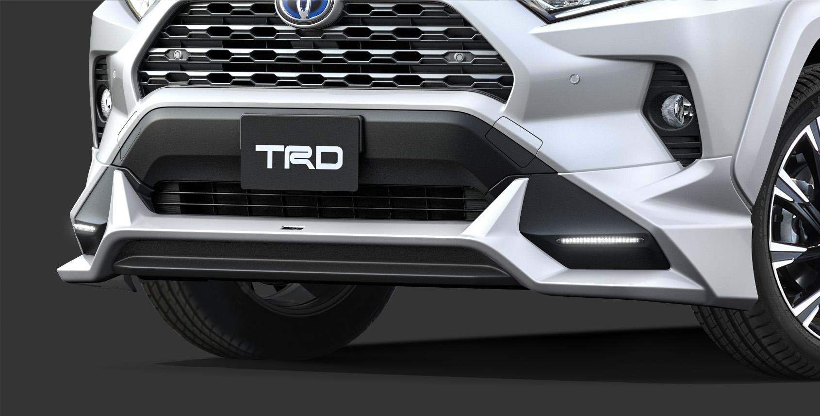「TRDが仕立てた新型RAV4「Adventure」用パーツはタフな印象を強調する「フィールド・モンスター」」の9枚目の画像