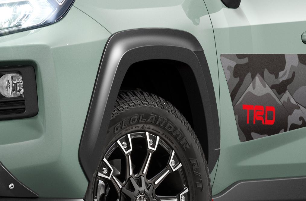 「TRDが仕立てた新型RAV4「Adventure」用パーツはタフな印象を強調する「フィールド・モンスター」」の20枚目の画像
