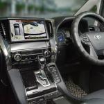 トヨタ・ヴェルファイア(エアロ仕様)に後付けできる全方位駐車アシスト機能付サイドビューカメラが発売 - sub3