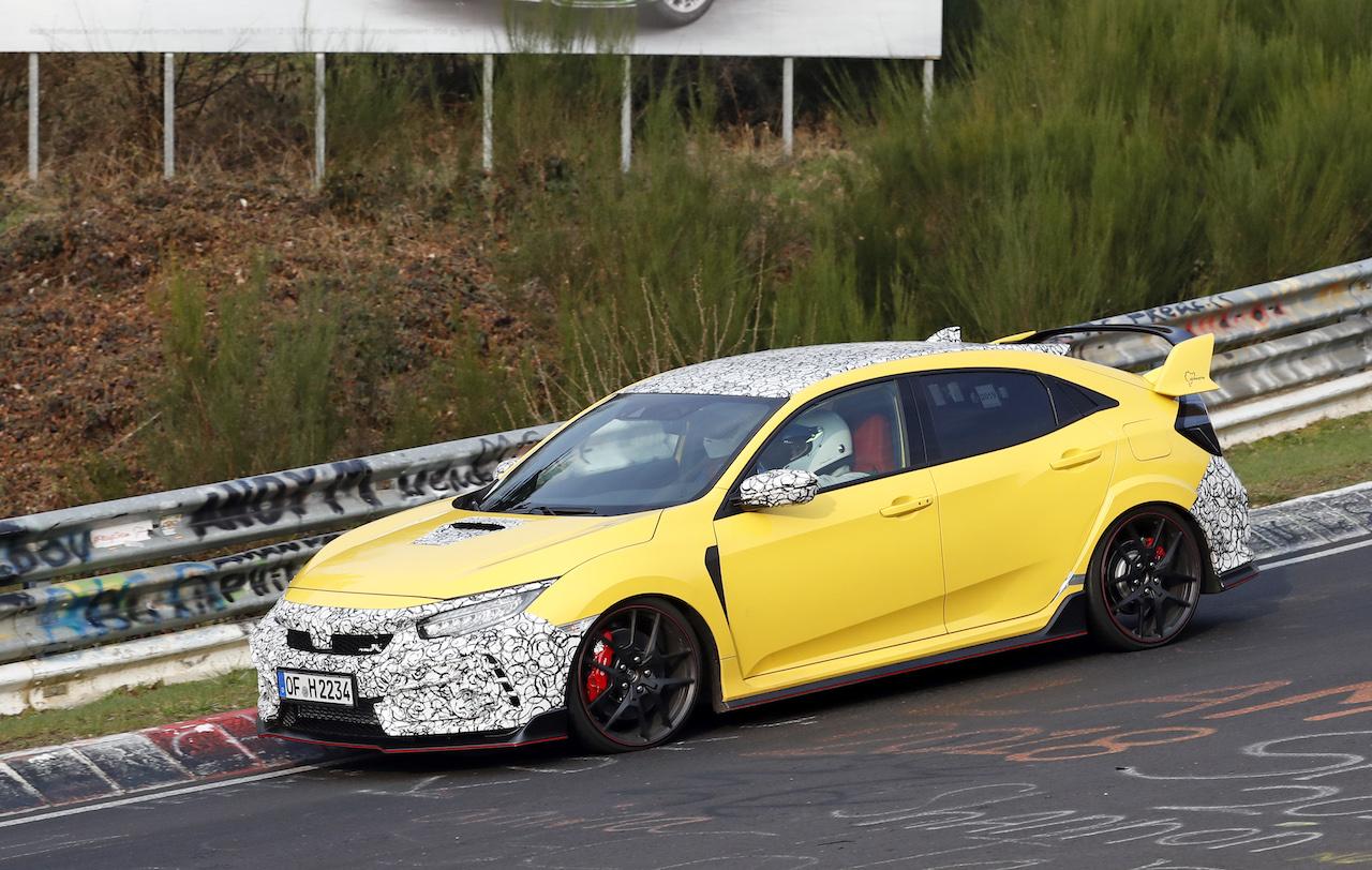 Honda Civic Type R facelift 7 画像 シビック・タイプRにカーボンエクステリアを採用した ...