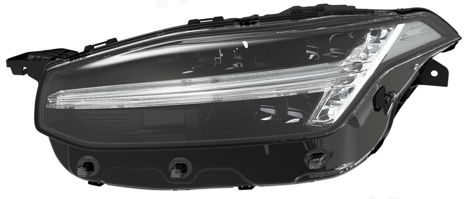 「先進運転支援システム・自動運転の主要センサーをヘッドランプに融合させた市光工業【人とくるまのテクノロジー展2019 横浜】」の2枚目の画像