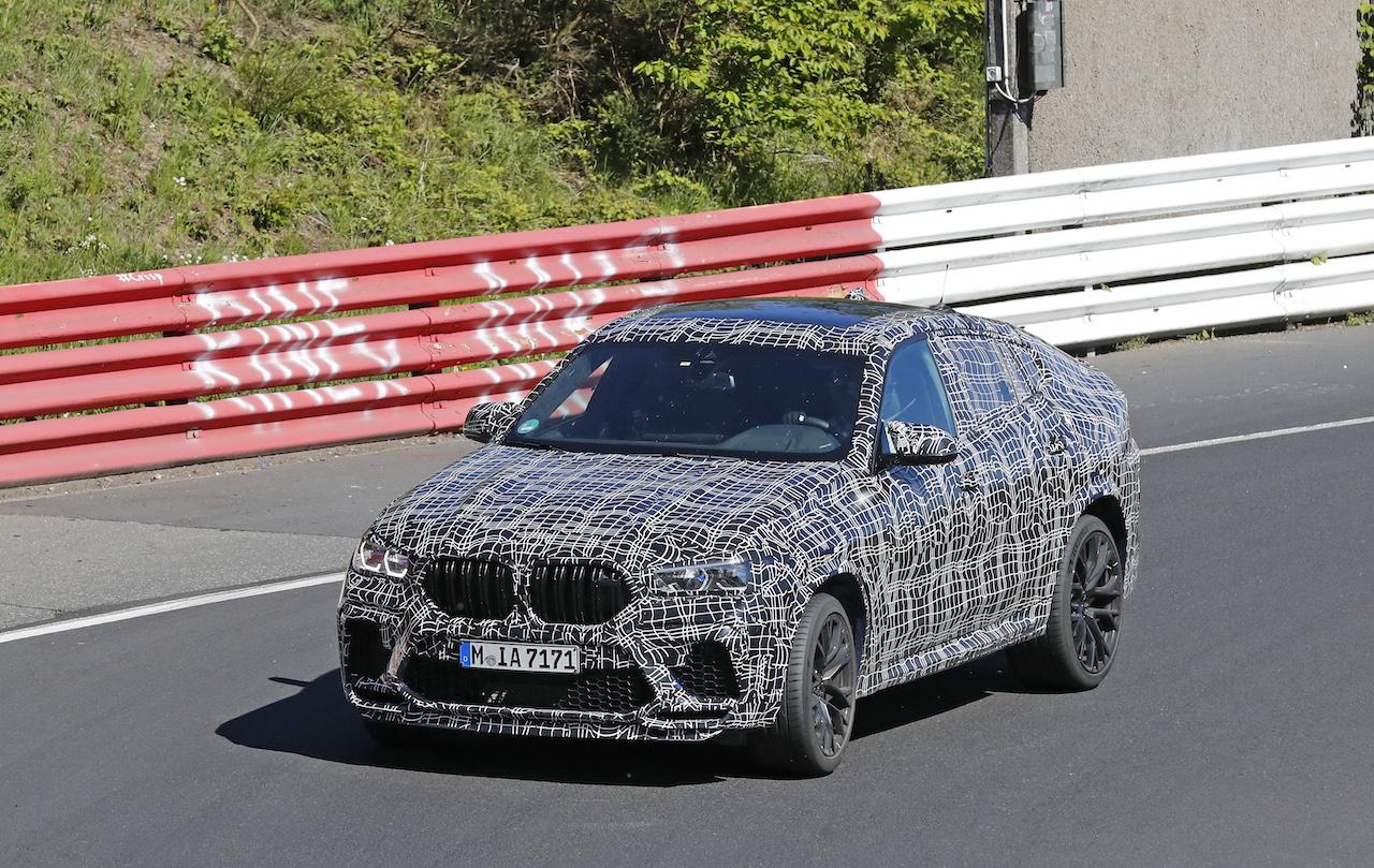 「ランボルギーニ・ウルスがライバル! 新型BMW・X6Mの最終デザインを確認」の4枚目の画像