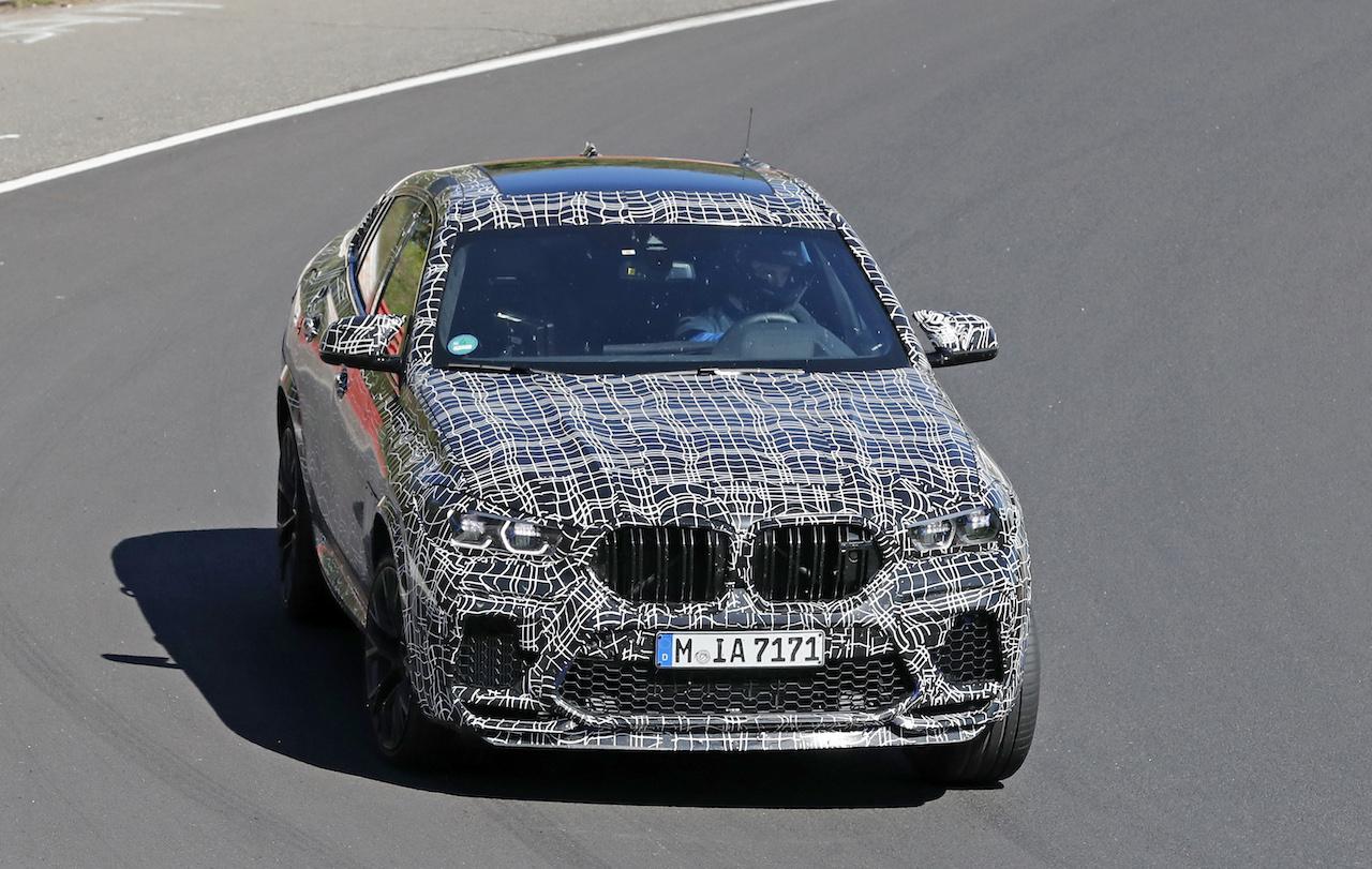 「ランボルギーニ・ウルスがライバル! 新型BMW・X6Mの最終デザインを確認」の5枚目の画像