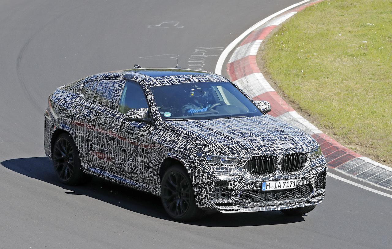 「ランボルギーニ・ウルスがライバル! 新型BMW・X6Mの最終デザインを確認」の6枚目の画像
