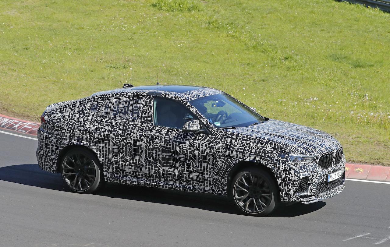 「ランボルギーニ・ウルスがライバル! 新型BMW・X6Mの最終デザインを確認」の8枚目の画像
