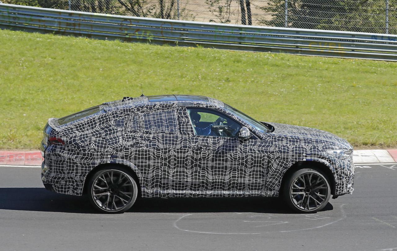 「ランボルギーニ・ウルスがライバル! 新型BMW・X6Mの最終デザインを確認」の7枚目の画像