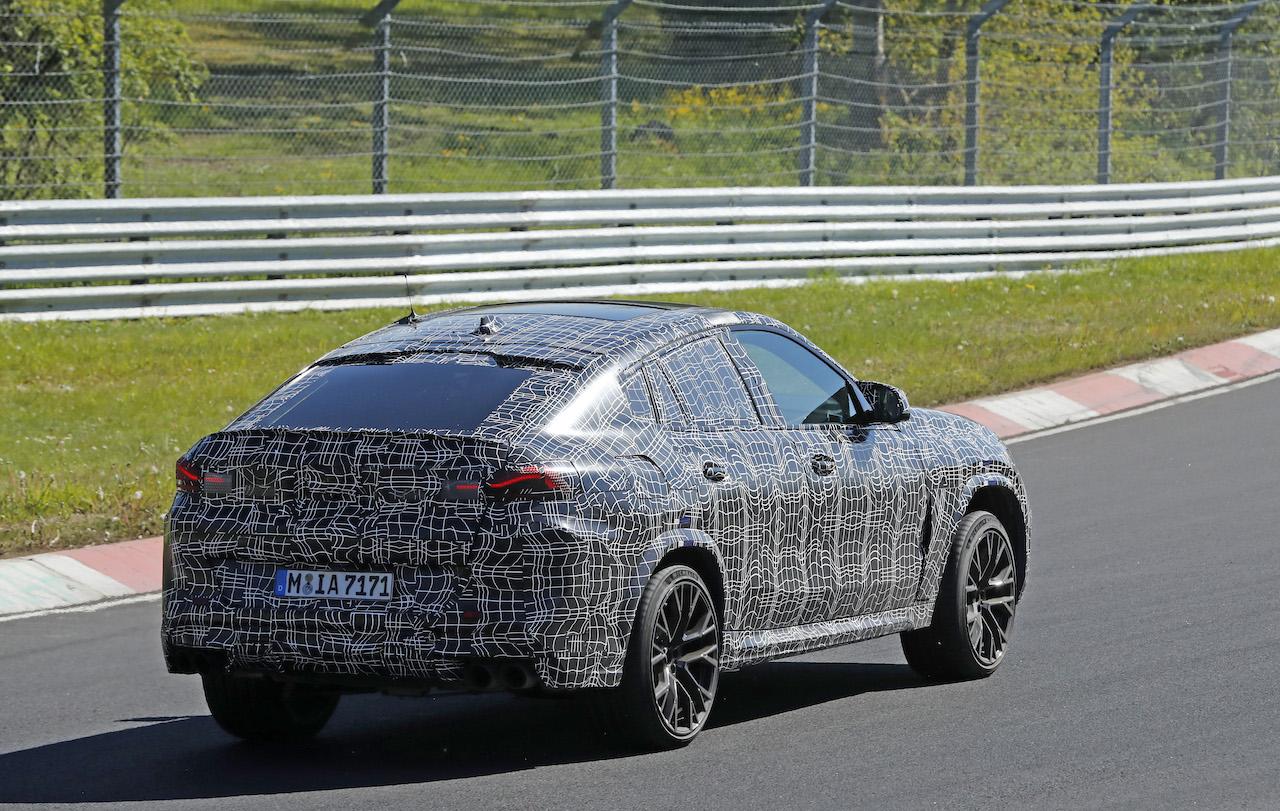 「ランボルギーニ・ウルスがライバル! 新型BMW・X6Mの最終デザインを確認」の10枚目の画像