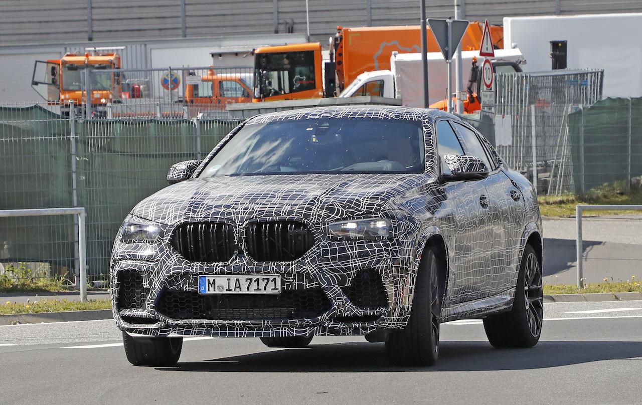 「ランボルギーニ・ウルスがライバル! 新型BMW・X6Mの最終デザインを確認」の12枚目の画像