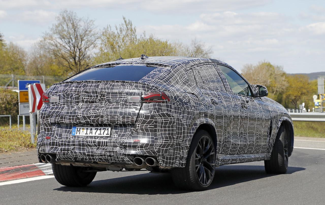 「ランボルギーニ・ウルスがライバル! 新型BMW・X6Mの最終デザインを確認」の21枚目の画像