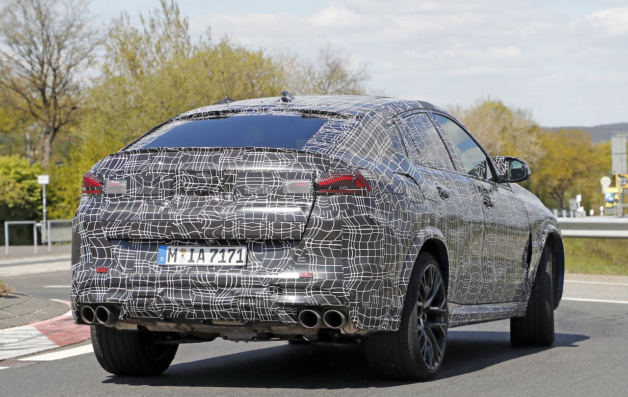 「ランボルギーニ・ウルスがライバル! 新型BMW・X6Mの最終デザインを確認」の22枚目の画像