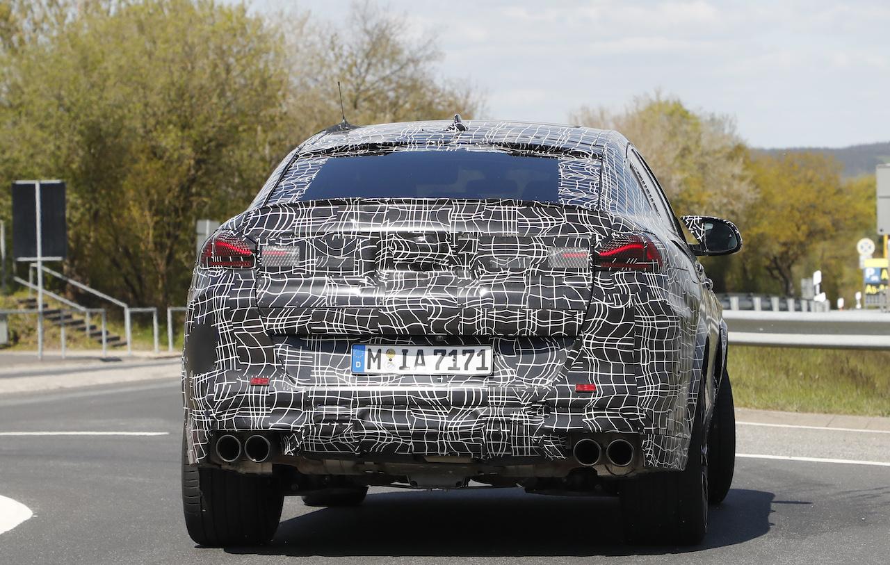 「ランボルギーニ・ウルスがライバル! 新型BMW・X6Mの最終デザインを確認」の23枚目の画像