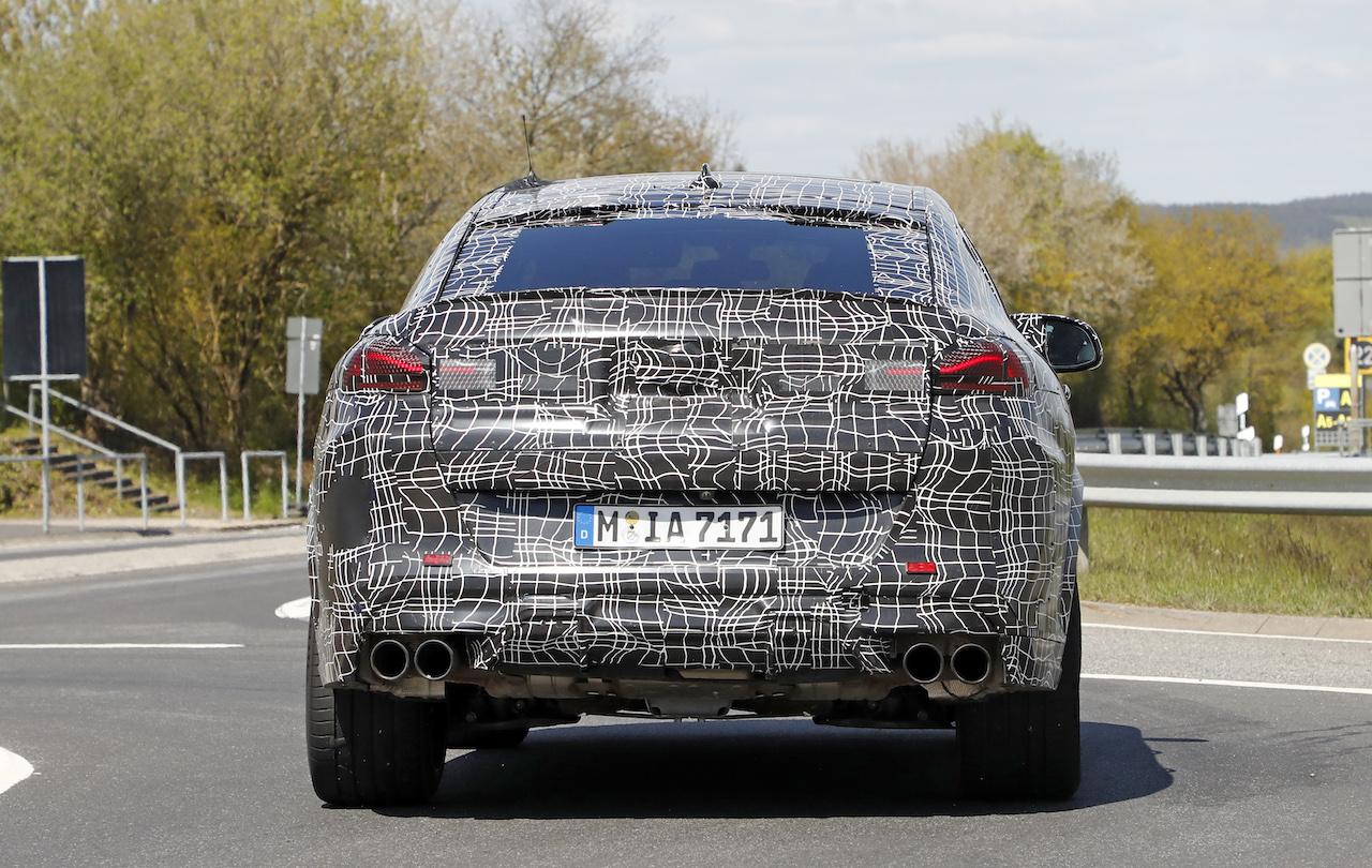 「ランボルギーニ・ウルスがライバル! 新型BMW・X6Mの最終デザインを確認」の24枚目の画像