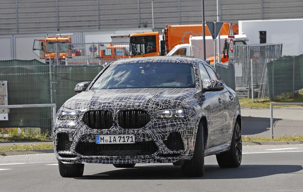「ランボルギーニ・ウルスがライバル! 新型BMW・X6Mの最終デザインを確認」の14枚目の画像