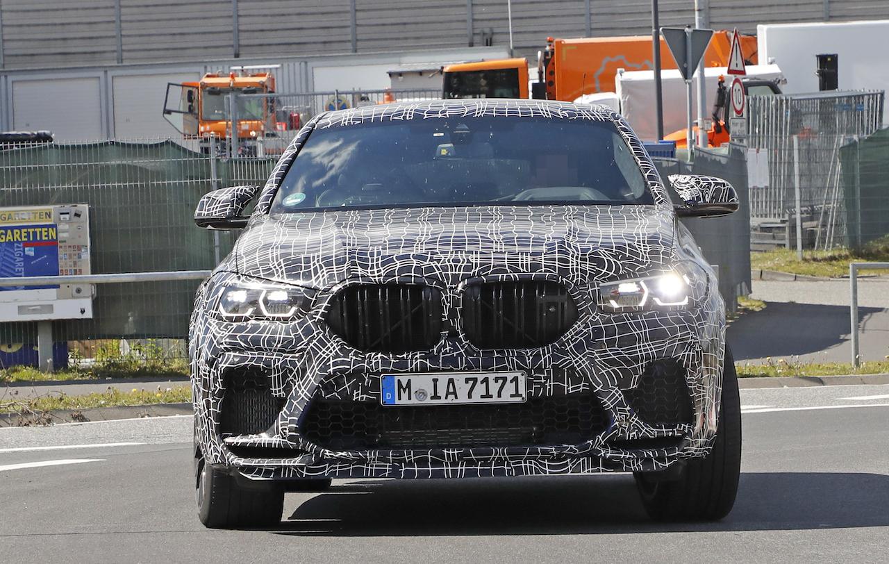 「ランボルギーニ・ウルスがライバル! 新型BMW・X6Mの最終デザインを確認」の13枚目の画像