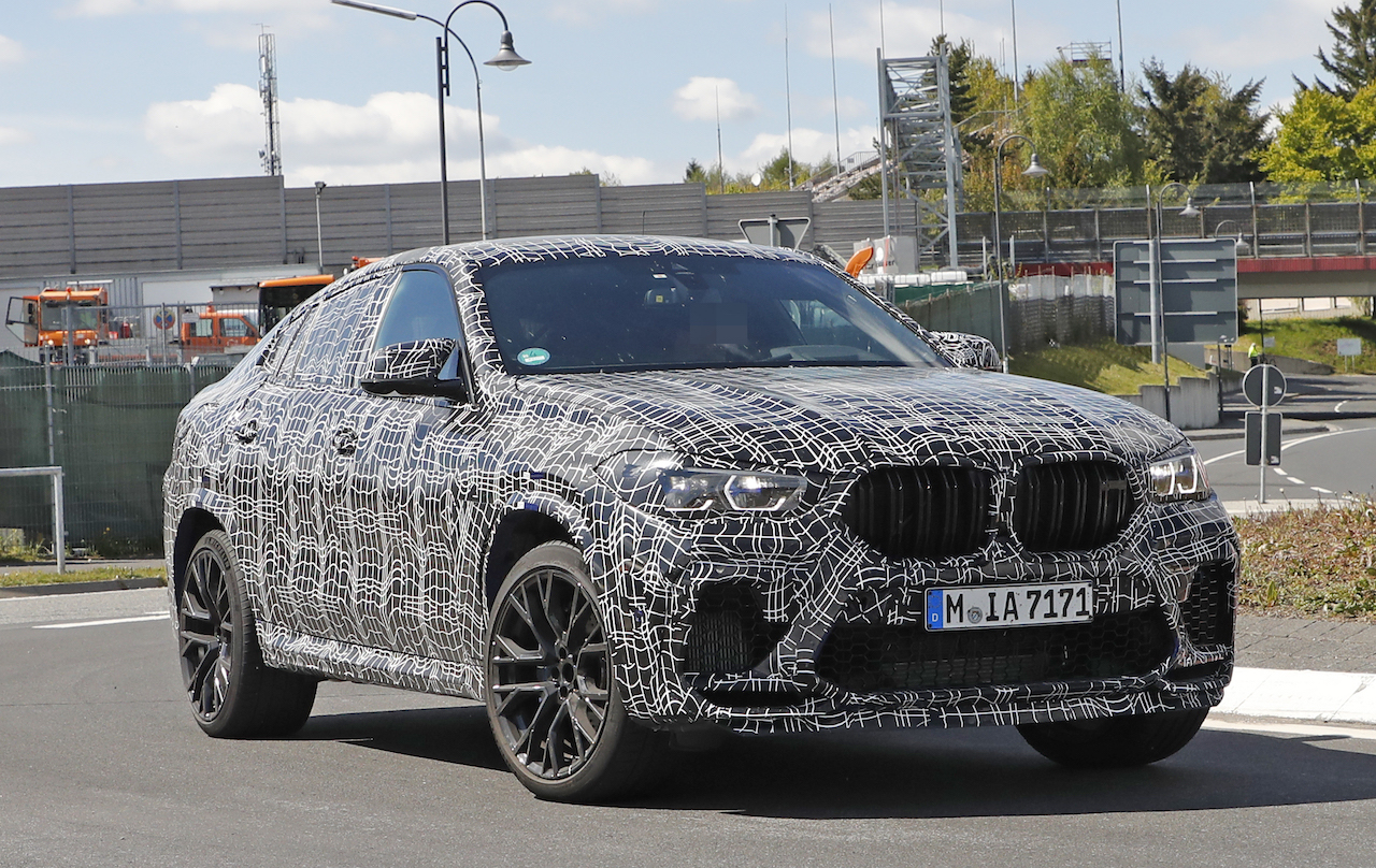 「ランボルギーニ・ウルスがライバル! 新型BMW・X6Mの最終デザインを確認」の16枚目の画像