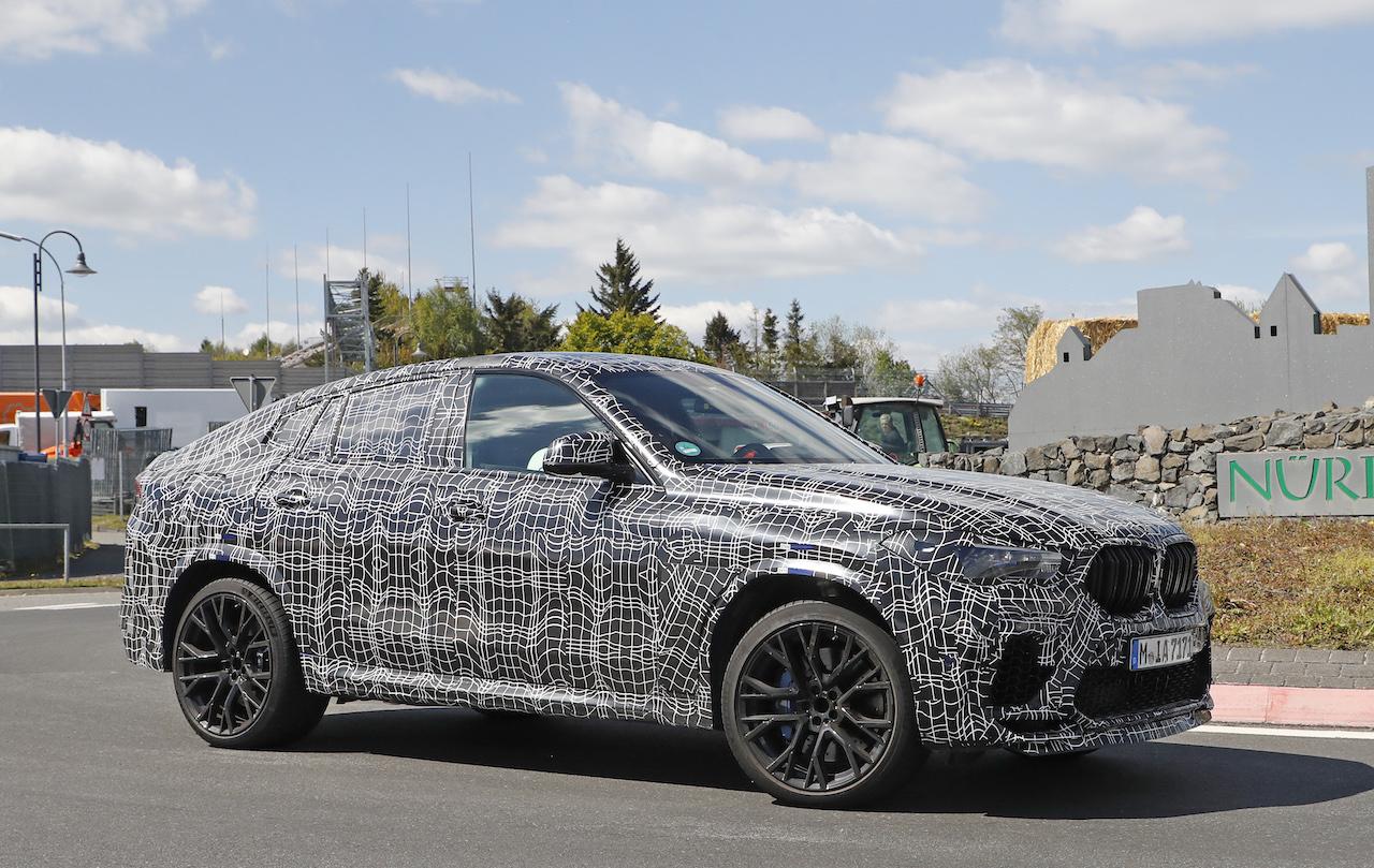 「ランボルギーニ・ウルスがライバル! 新型BMW・X6Mの最終デザインを確認」の17枚目の画像