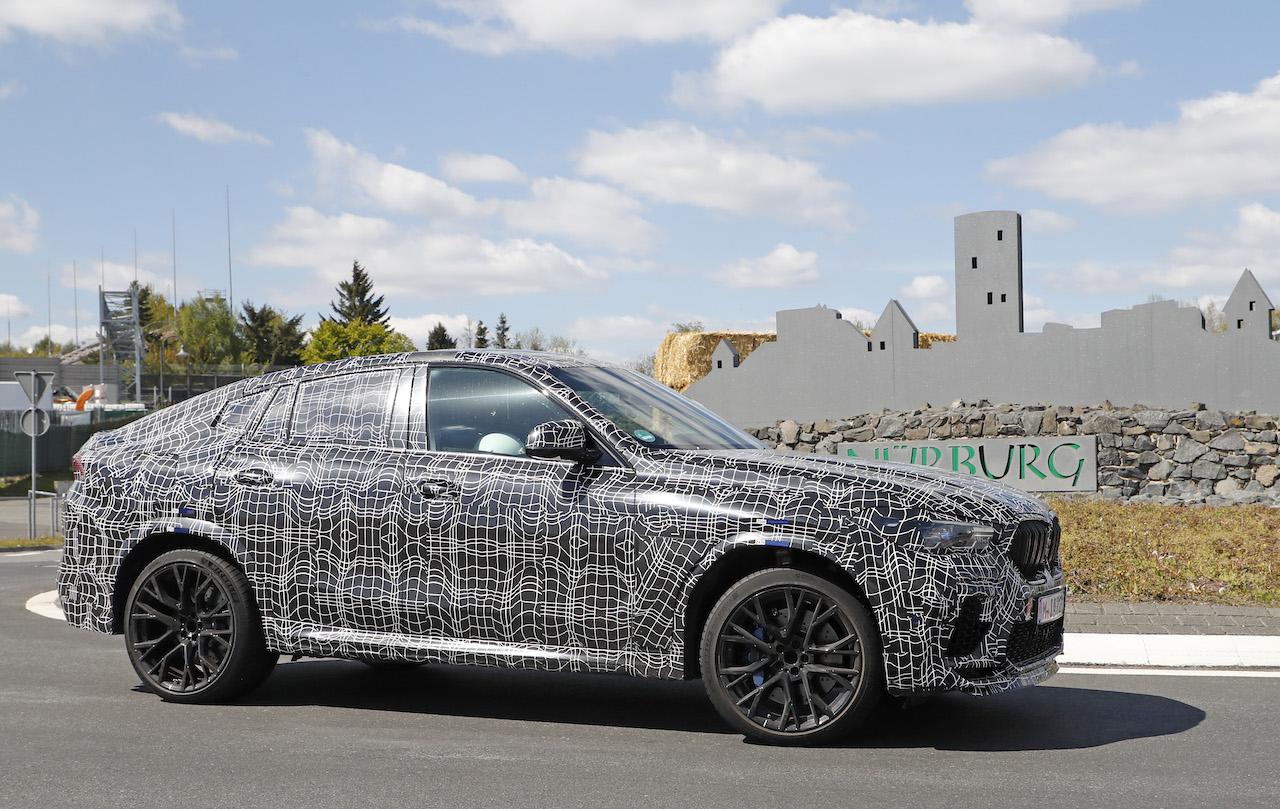 「ランボルギーニ・ウルスがライバル! 新型BMW・X6Mの最終デザインを確認」の19枚目の画像