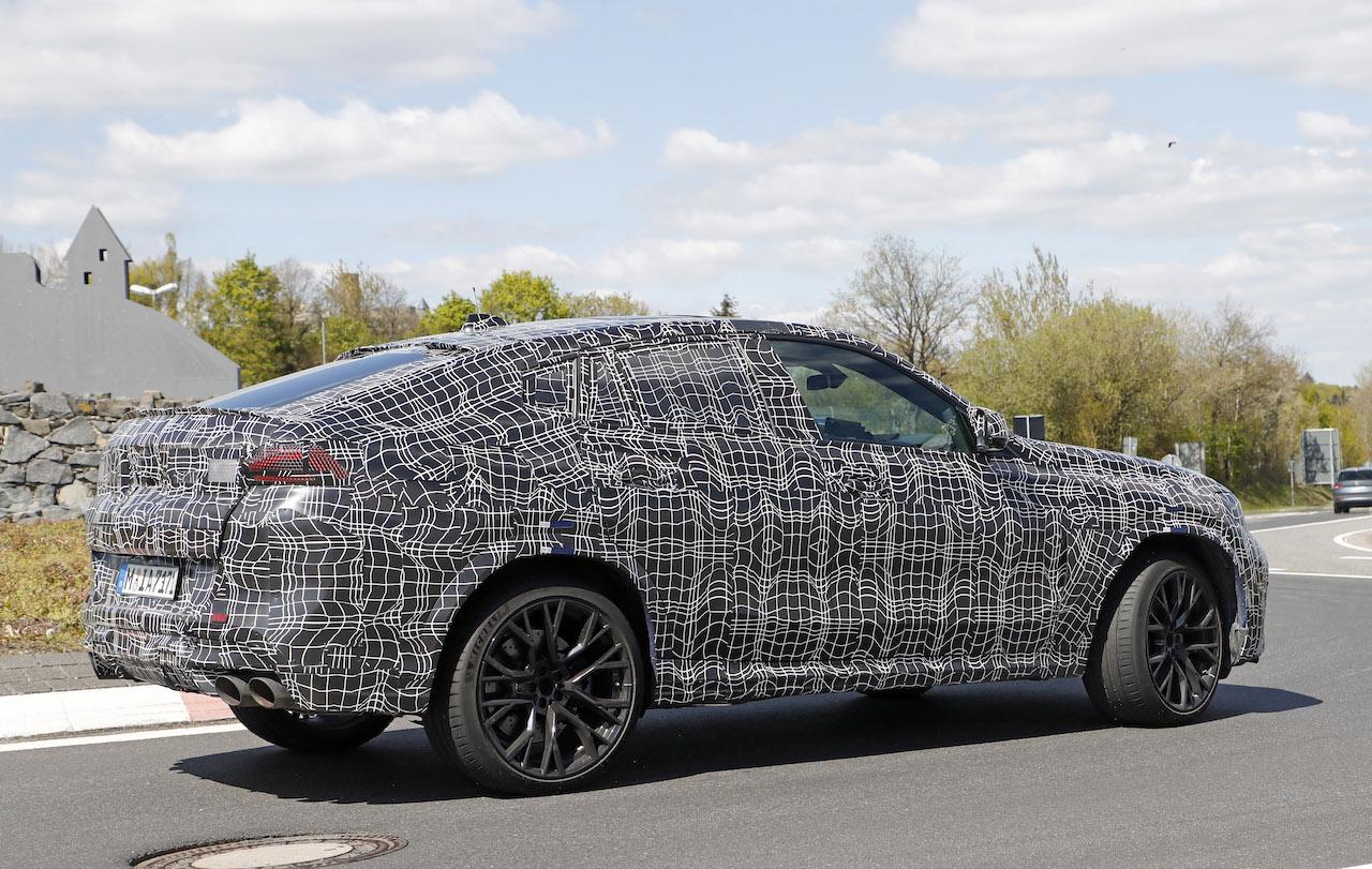 「ランボルギーニ・ウルスがライバル! 新型BMW・X6Mの最終デザインを確認」の20枚目の画像