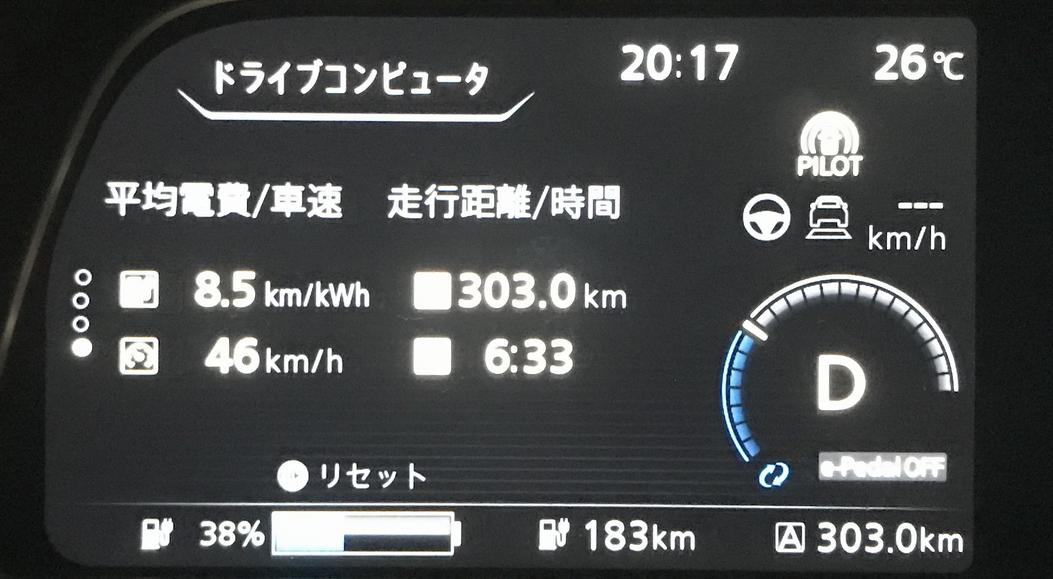「日産リーフe+の「WLTC走行距離458km」、本当に走るのかテストしてみました」の8枚目の画像