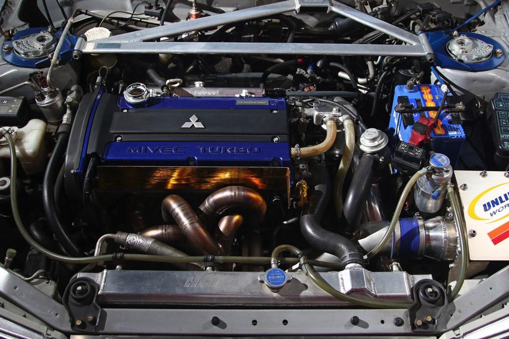 2.3Lで400psのエンジン