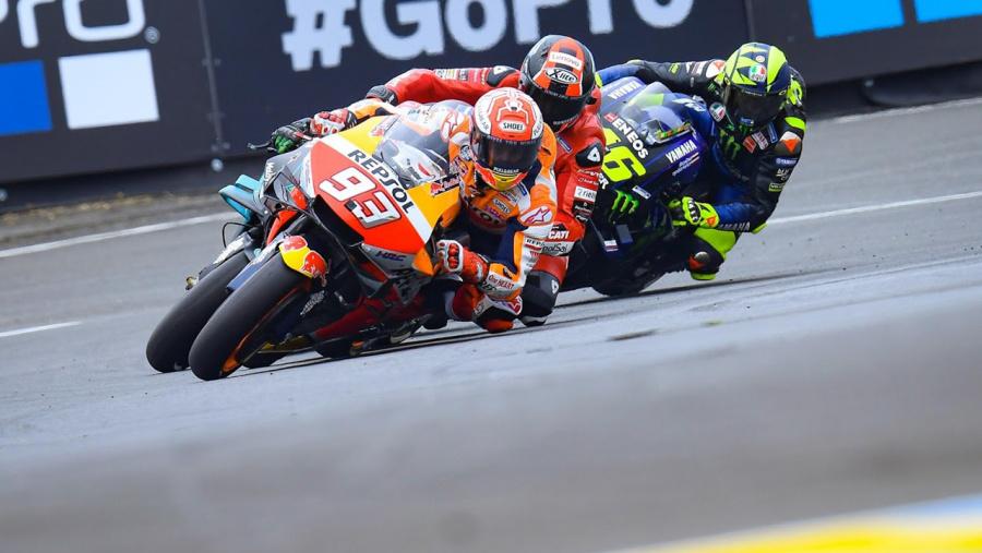 MotoGP コーナリング
