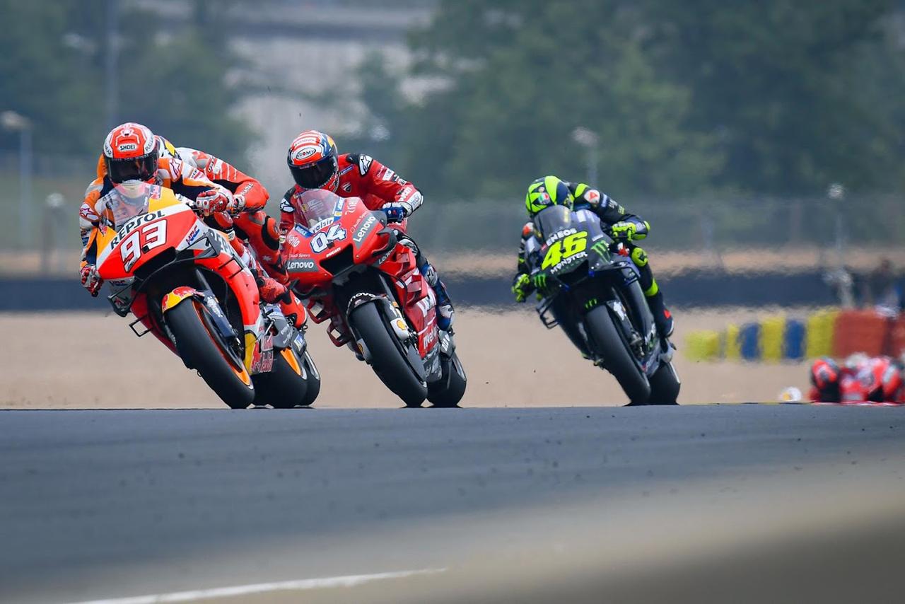 MotoGP バトル
