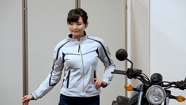 Hondaレディースメッシュジャケット