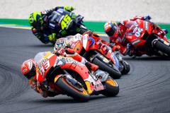MotoGPレースシーン