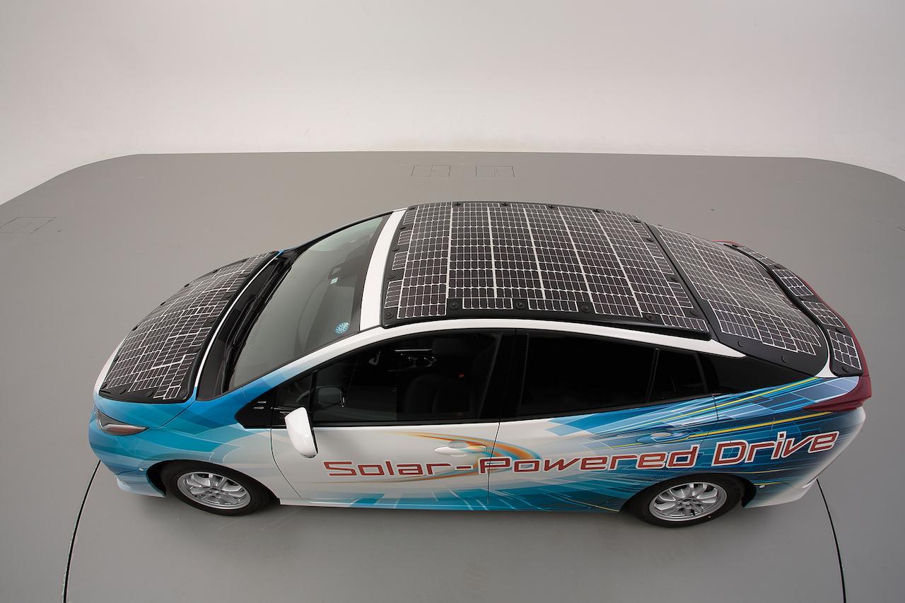 全身ソーラーパネルのプリウスphvが登場。公道走行実証実験で実施 | 20190704 01 09 S