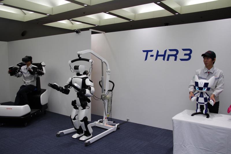 ヒューマノイドロボット「T-HR3」、マスコットロボット