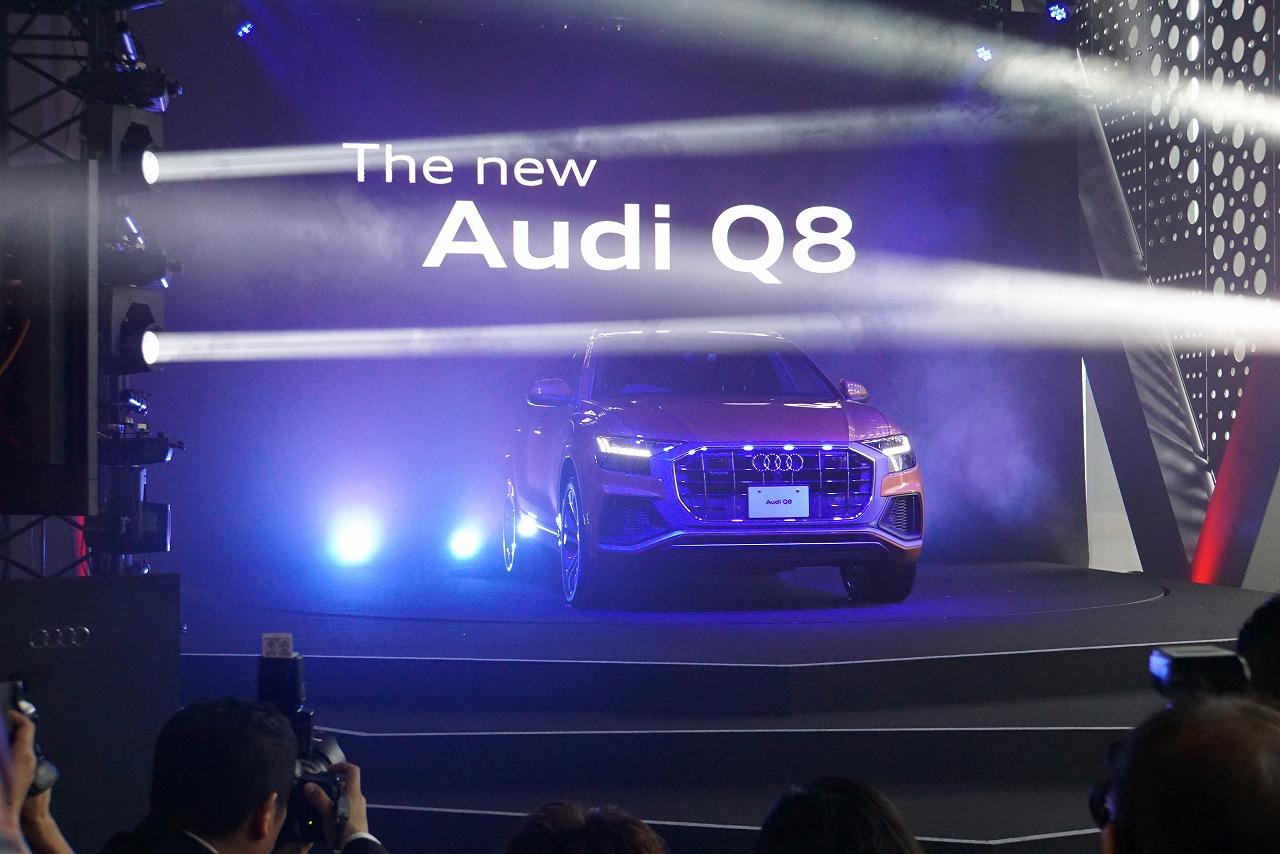 「Q2オーナーが(やや悔しそうに)チェック! 新登場したアウディQ8の魅力とは?」の2枚目の画像