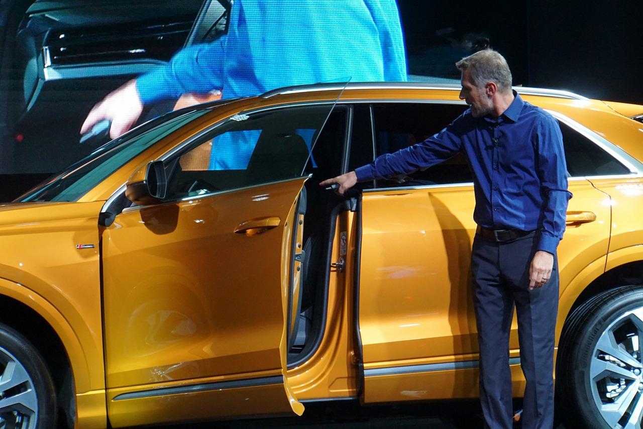「Q2オーナーが(やや悔しそうに)チェック! 新登場したアウディQ8の魅力とは?」の22枚目の画像