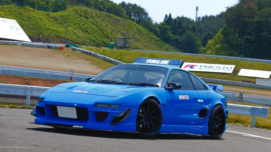 ブルーのSW20