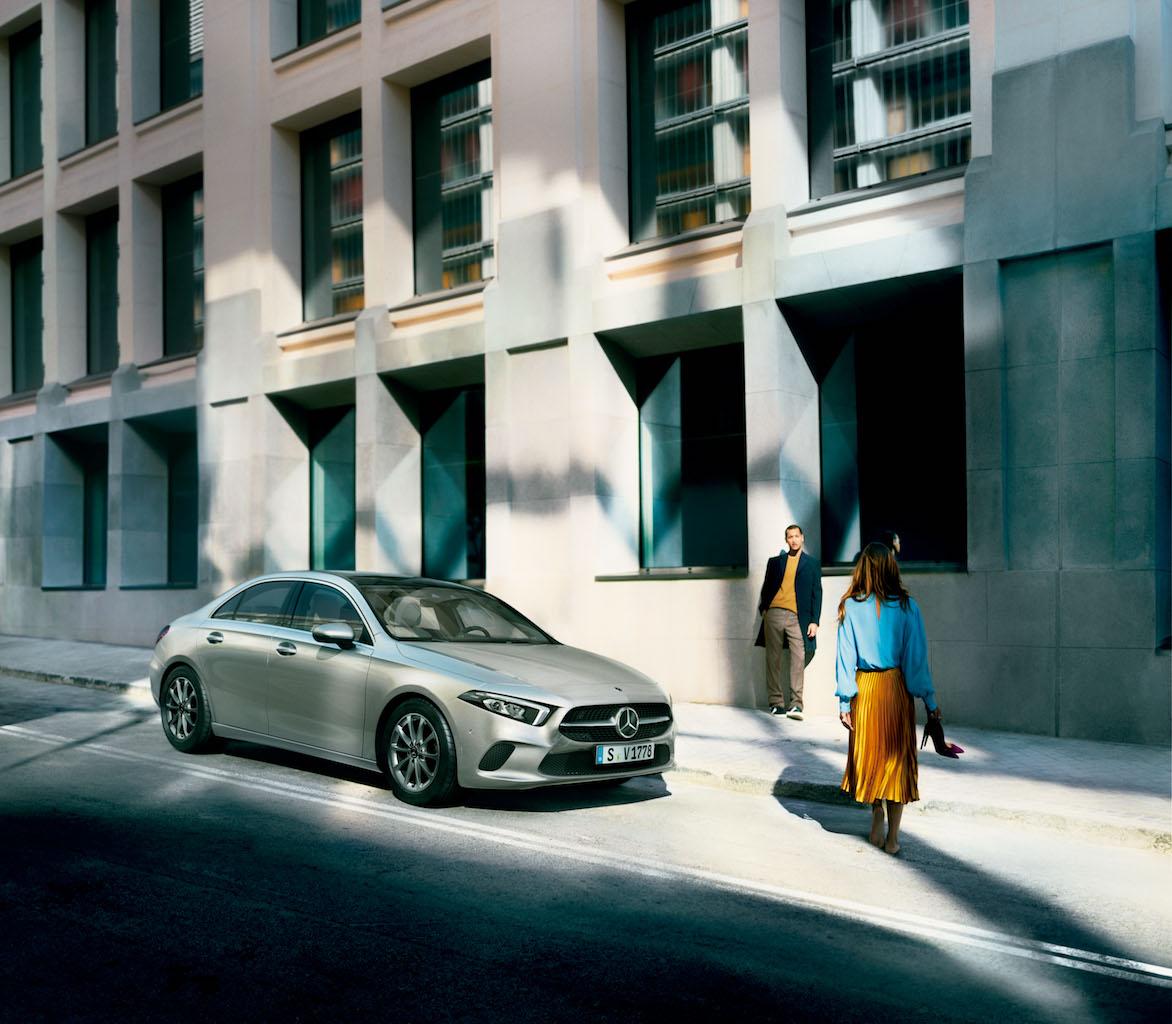 「【新車】メルセデス・ベンツからAクラス セダンが登場。4ドアクーペのような官能的なスタイリングで魅せる」の6枚目の画像