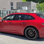 証拠はテールゲートの擬装!? ポルシェ・パナメーラ スポーツツーリスモ、初の改良型プロトタイプをキャッチ - Porsche Panamera Sport Turismo Facelift 3
