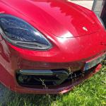 証拠はテールゲートの擬装!? ポルシェ・パナメーラ スポーツツーリスモ、初の改良型プロトタイプをキャッチ - Porsche Panamera Sport Turismo Facelift 5