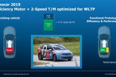 ZF2速電動ドライブとWLTPモード